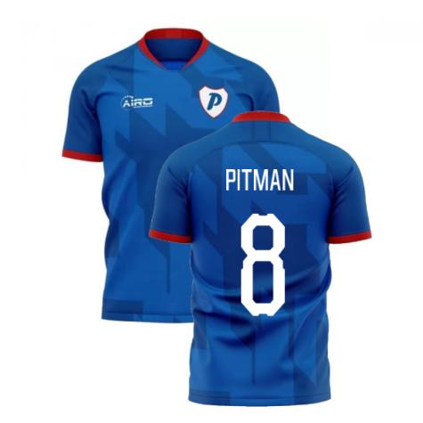 2019-2020 Portsmouth Home Concept Football Shirt (Pitman 8)