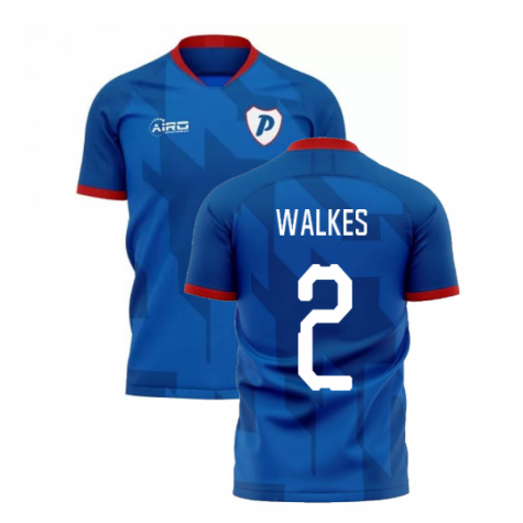 2019-2020 Portsmouth Home Concept Football Shirt (Walkes 2)