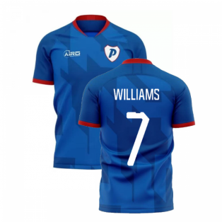 2020-2021 Portsmouth Home Concept Football Shirt (Williams 7)