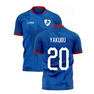 2019-2020 Portsmouth Home Concept Football Shirt (Yakubu 20)