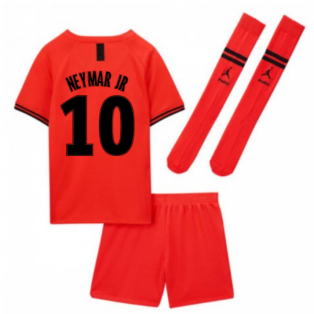 2019-2020 PSG Away Nike Little Boys Mini Kit (NEYMAR JR 10)
