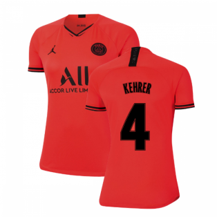 2019-2020 PSG Away Womens Shirt (KEHRER 4)