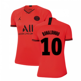 2019-2020 PSG Away Womens Shirt (RONALDINHO 10)