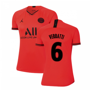 2019-2020 PSG Away Womens Shirt (VERRATTI 6)