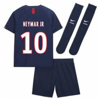 2019-2020 PSG Home Nike Little Boys Mini Kit (NEYMAR JR 10)