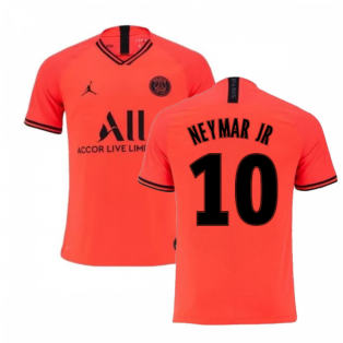 2019-2020 PSG Jordan Away Shirt (NEYMAR JR 10)