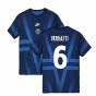 2019-2020 PSG Nike Pre-Match Training Shirt (Blue) (VERRATTI 6)