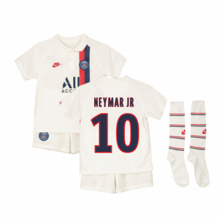 2019-2020 PSG Third Nike Little Boys Mini Kit (NEYMAR JR 10)