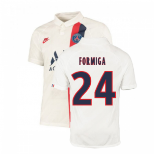 2019-2020 PSG Third Nike Shirt White (Kids) (Formiga 24)