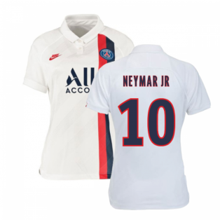2019-2020 PSG Third Nike Womens Football Shirt (NEYMAR JR 10)