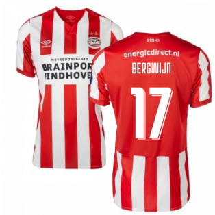 2019-2020 PSV Eindhoven Home Football Shirt (Kids) (Bergwijn 17)