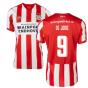 2019-2020 PSV Eindhoven Home Football Shirt (Kids) (De Jong 9)