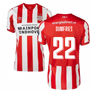 2019-2020 PSV Eindhoven Home Football Shirt (Kids) (Dumfries 22)