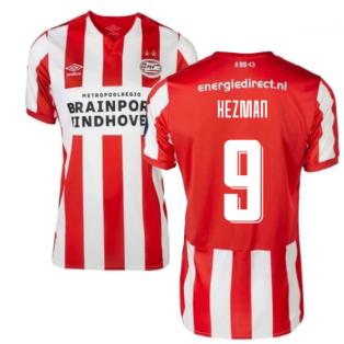2019-2020 PSV Eindhoven Home Football Shirt (Kids) (Kezman 9)