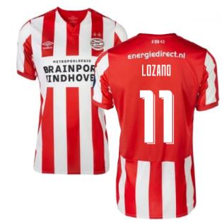 2019-2020 PSV Eindhoven Home Football Shirt (Kids) (Lozano 11)