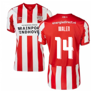 2019-2020 PSV Eindhoven Home Football Shirt (Kids) (Malen 14)