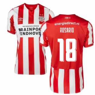 2019-2020 PSV Eindhoven Home Football Shirt (Kids) (Rosario 18)