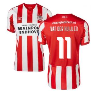 2019-2020 PSV Eindhoven Home Football Shirt (Kids) (Van Der Kuijlen 11)