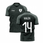 2020-2021 PSV Eindhoven Third Concept Football Shirt (Malen 14)