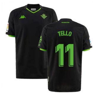 2019-2020 Real Betis Kappa Away Shirt (TELLO 11)