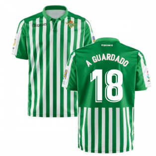 2019-2020 Real Betis Kappa Home Shirt (Kids) (A GUARDADO 18)