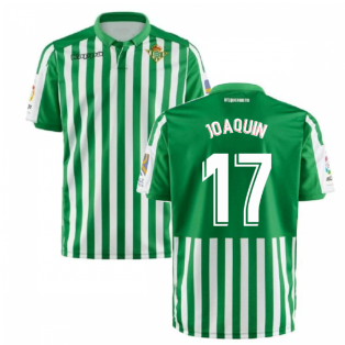 2019-2020 Real Betis Kappa Home Shirt (Kids) (JOAQUIN 17)