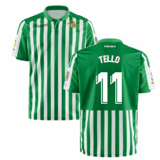 2019-2020 Real Betis Kappa Home Shirt (Tello 11)