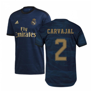 2019-2020 Real Madrid Adidas Away Football Shirt (CARVAJAL 2)