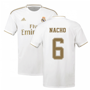 2019-2020 Real Madrid Adidas Home Football Shirt (NACHO 6)