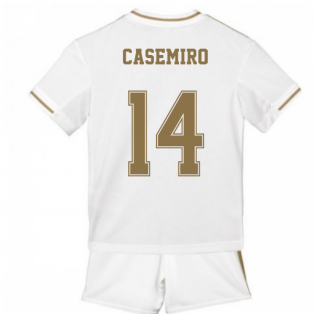 2019-2020 Real Madrid Adidas Home Mini Kit (CASEMIRO 14)