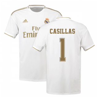 2019-2020 Real Madrid Adidas Home Shirt (Kids) (CASILLAS 1)