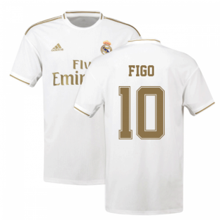 2019-2020 Real Madrid Adidas Home Shirt (Kids) (FIGO 10)