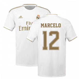 2019-2020 Real Madrid Adidas Home Shirt (Kids) (MARCELO 12)