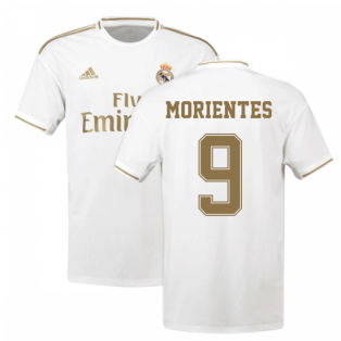 2019-2020 Real Madrid Adidas Home Shirt (Kids) (MORIENTES 9)