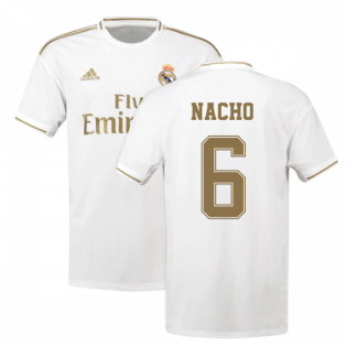 2019-2020 Real Madrid Adidas Home Shirt (Kids) (NACHO 6)