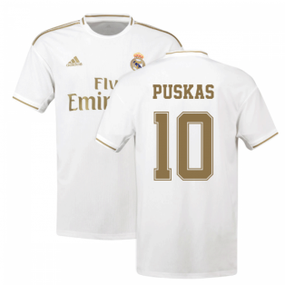 2019-2020 Real Madrid Adidas Home Shirt (Kids) (PUSKAS 10)