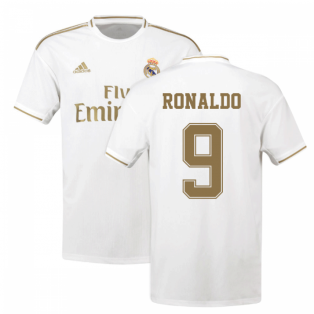 2019-2020 Real Madrid Adidas Home Shirt (Kids) (RONALDO 9)