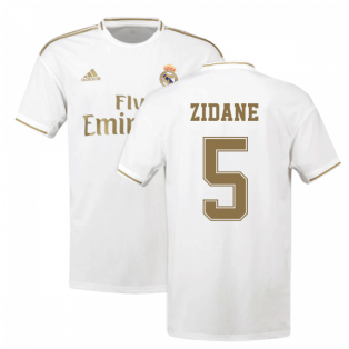 2019-2020 Real Madrid Adidas Home Shirt (Kids) (ZIDANE 5)