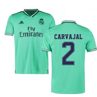 2019-2020 Real Madrid Adidas Third Football Shirt (CARVAJAL 2)