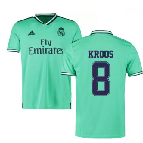 2019-2020 Real Madrid Adidas Third Football Shirt (KROOS 8)