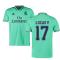 2019-2020 Real Madrid Adidas Third Football Shirt (LUCAS V 17)