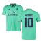 2019-2020 Real Madrid Adidas Third Football Shirt (MODRIC 10)