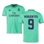 2019-2020 Real Madrid Adidas Third Football Shirt (MORIENTES 9)