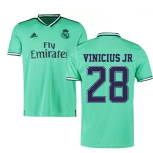 2019-2020 Real Madrid Adidas Third Football Shirt (VINICIUS JR 28)