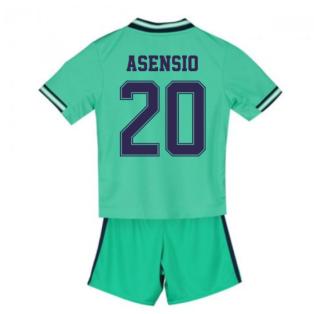 2019-2020 Real Madrid Adidas Third Mini Kit (ASENSIO 20)