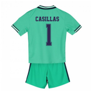 2019-2020 Real Madrid Adidas Third Mini Kit (CASILLAS 1)