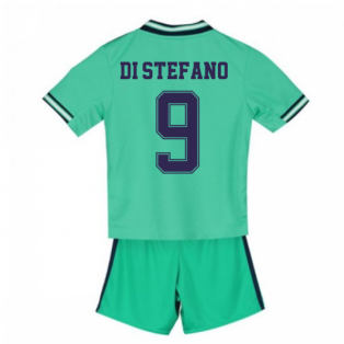 2019-2020 Real Madrid Adidas Third Mini Kit (DI STEFANO 9)