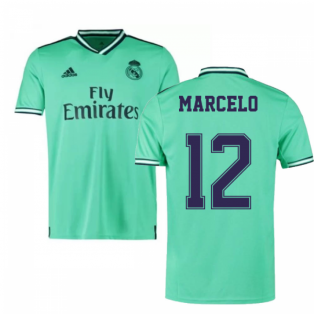 2019-2020 Real Madrid Adidas Third Shirt (Kids) (MARCELO 12)