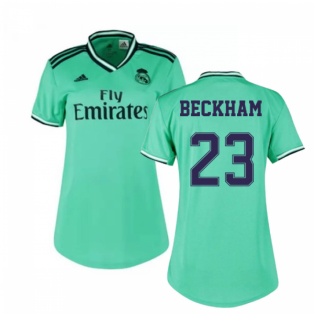 2019-2020 Real Madrid Adidas Womens Third Shirt (BECKHAM 23)