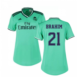 2019-2020 Real Madrid Adidas Womens Third Shirt (BRAHIM 21)